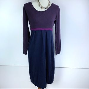 Biden | Purple & Blue Knit Dress | 2465